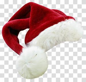 Topi Santa Claus Natal, Topi Santa Merah, topi Santa Claus merah png