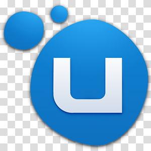 screenshot logo U biru dan putih, simbol biru elektrik, Uplay PNG clipart