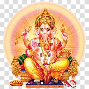 Ilustrasi Ganesha, Ganesha Shiva Parvati Kali Ganesh Chaturthi, Ganesha png