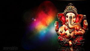 Ilustrasi Dewa Ganesha, Shiva Ganesha Parwati Hanuman Ganesh Chaturthi, Radha Krishna png