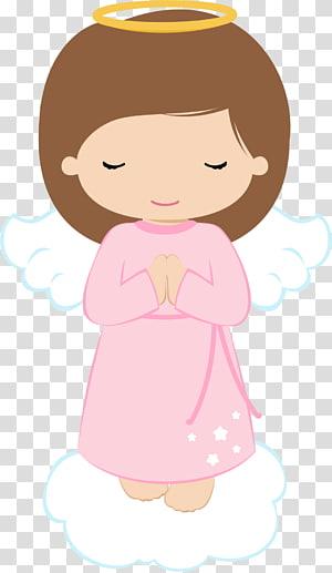 ilustrasi doa malaikat, Malaikat Komuni Pertama Baptisan, baptisan PNG clipart