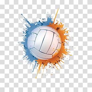softball putih, Bola Basket Voli, bola voli png