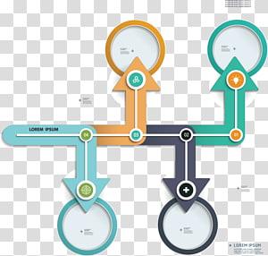 logo panah, Panah Infografis, diagram alur panah png