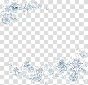 Snowflake Crystal White, White ice snow, ilustrasi bunga abu-abu PNG clipart