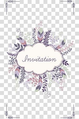 Hamparan teks undangan, Undangan pernikahan Simpan tanggal Kartu ucapan, Pola pernikahan yang elegan png