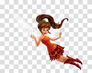 ilustrasi peri berambut coklat, tinker bell disney peri ratu clarion peri perusahaan walt disney, peri PNG clipart