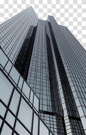 sudut rendah bangunan, Gedung Kantor Gedung Pencakar Langit, gedung PNG clipart