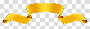 Produk Yellow Angle Font, Spanduk Emas, ilustrasi garland emas PNG clipart
