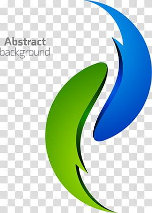 Logo Latar Belakang Abstrak, Abstraksi Hijau Seni abstrak, Latar belakang abstrak PNG clipart