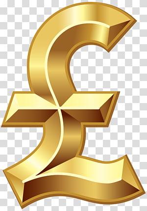 Mata uang Euro, Pound sterling Dollar sign Pound sign Simbol mata uang, British Pound Sign png