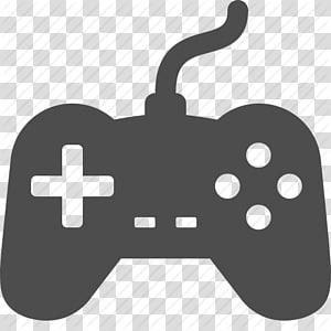 ikon pengendali permainan dengan tali hitam, pengendali Xbox 360 Joystick PlayStation 3 Pengendali Game, Ikon Pengendali Game png