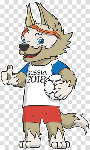Ilustrasi maskot Rusia 2018, Piala Dunia FIFA 2018 Rusia Zabivaka maskot resmi Piala Dunia FIFA, Rusia png