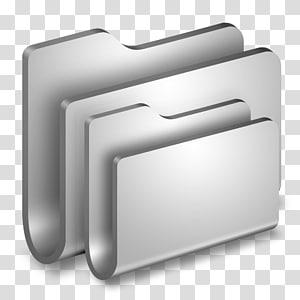 ikon folder abu-abu, aksesori perangkat keras sudut, Folder Folder Logam png