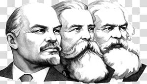 sketsa tiga orang, Vladimir Lenin Marxisme di Zaman Kita Leninisme Komunisme, Vladimir Lenin png