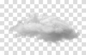 Awan Putih, awan, awan putih dengan latar belakang hitam png