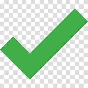 tanda centang ikon komputer, centang hijau, ikon centang hijau PNG clipart