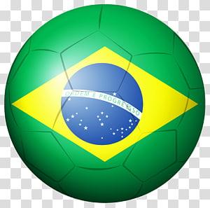 Tim sepak bola nasional Brasil Piala Dunia FIFA 2014, Bola Sepak Bola Brasil, bendera Brasil png
