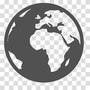 Ikon Komputer Globe World, Globe, Online, World Icon, karya seni bumi png