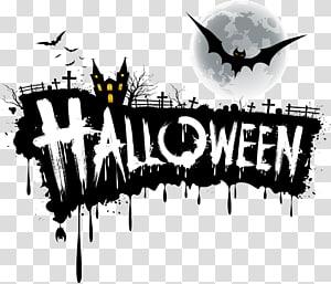 Ilustrasi Halloween, Halloween Jack-o \ '- lentera Font, desain font Halloween png