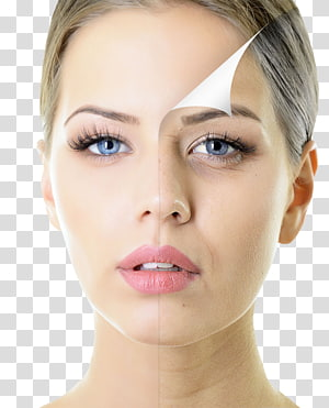 wajah wanita, chemical peel Perawatan kulit Exfoliation Peremajaan wajah, makeup PNG clipart