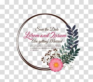 Simpan teks tanggal, undangan pernikahan, Template Undangan Pernikahan Hangat png