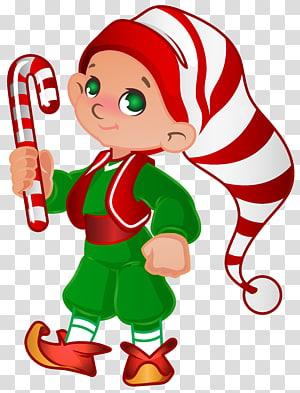 Christmas gnome, Santa Claus Christmas elf, Elf Santa Helper png