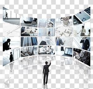 seorang pria berdiri sambil menggerakkan tangannya, Perusahaan Kewirausahaan Bisnis Ruten Global Inc. Fang Holdings Limited, latar belakang teknologi People Business png