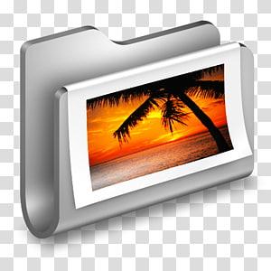 ilustrasi pohon dekat badan air, elektronik panas multimedia, Folder Logam png