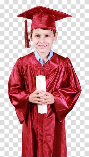 anak laki-laki berpakaian akademik, upacara Wisuda Graduate University Kindergarten Diploma Pendidikan pascasarjana, Mahasiswa png