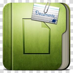 ikon dokumen hijau, font bahan merek sudut, Folder Dokumen Folder PNG clipart