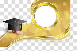 Upacara wisuda Diploma Square Cap Illustration akademik, Dr. cap Graphics png