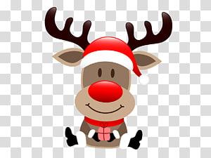 Ilustrasi Rudolf si hidung merah, Rudolph Sinterklas Sinterklas Sinterklas Sinterklas Natal, kartun rusa png