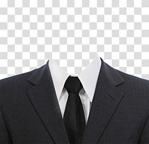 blazer kerah berlekuk abu-abu, kemeja putih, dan dasi hitam, Dokumen Jas, dasi hitam png