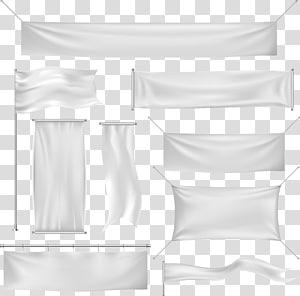 Banner Euclidean Silk, Background banner, banyak ilustrasi spanduk putih png