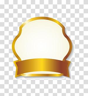 , Batas label pita emas mengkilap, logo pita emas png