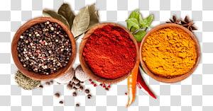 lada hitam, paprika, dan bubuk kunyit, ras el hanout garam masala bubuk cabai, rempah-rempah, bubuk cabai merah png