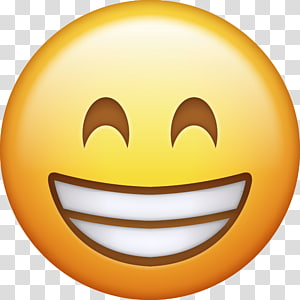 emoticon smiley, Emoji Kebahagiaan Emoticon Smiley, emoji png