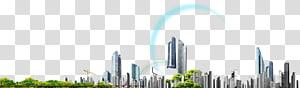 ilustrasi cityscape, arsitektur bangunan, file komputer kabel listrik, latar belakang bangunan kota PNG clipart