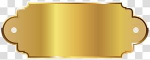 ilustrasi bingkai signage emas,, Templat Label Emas PNG clipart