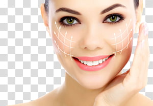 wajah wanita, Kosmetik Operasi plastik Kerut Terapi Botulinum toksin, iklan Kosmetik PNG clipart