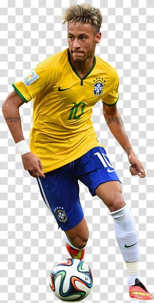 Neymar Brazil Paris Saint-Germain F.C.Real Madrid C.F.Piala Dunia FIFA 2014, Render Sepak Bola Neymar, Neymar png