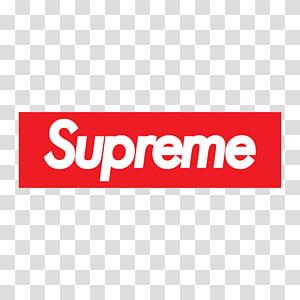 Kaos Hoodie Supreme Clothing Top, Supreme, Logo kotak kemas png