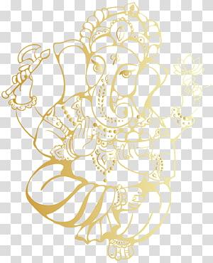 Sketsa Lord Ganesha, Hindu Ganesha, Sri Ganesh png