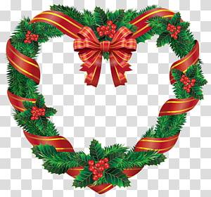 Karangan bunga Natal, Karangan Bunga Natal, Karangan Bunga Jantung Natal png