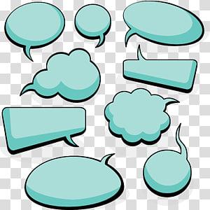 ilustrasi pesan awan hijau, Balon Pidato Dialog Euclidean, bahan kotak dialog Kosong sederhana png