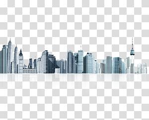 bangunan tengara cityscape, Arsitektur Bangunan Siluet, Bangunan gedung PNG clipart