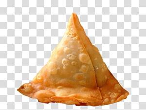 keripik goreng, masakan India, Makanan Jalanan, Masakan Vegetarian, Makanan Cepat Saji Samosa, Samosa PNG clipart