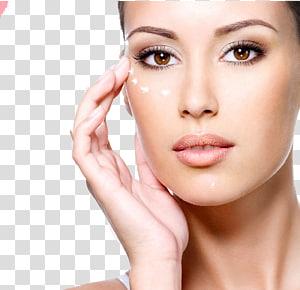 Fokus seorang wanita, Kosmetik Kecantikan Wajah Parlor Perawatan kulit Wajah, Kecantikan makeup dan bunga PNG clipart