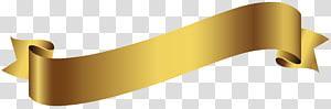 ilustrasi pita emas, Spanduk, Spanduk Emas PNG clipart