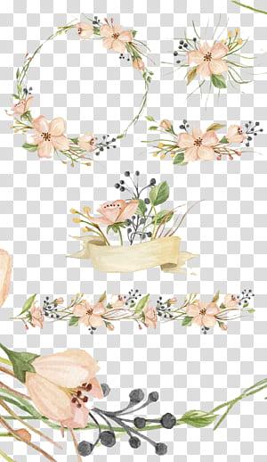 Lukisan cat air Pasar Kreatif Bunga merah muda, Bunga yang dilukis dengan tangan, bunga merah muda png